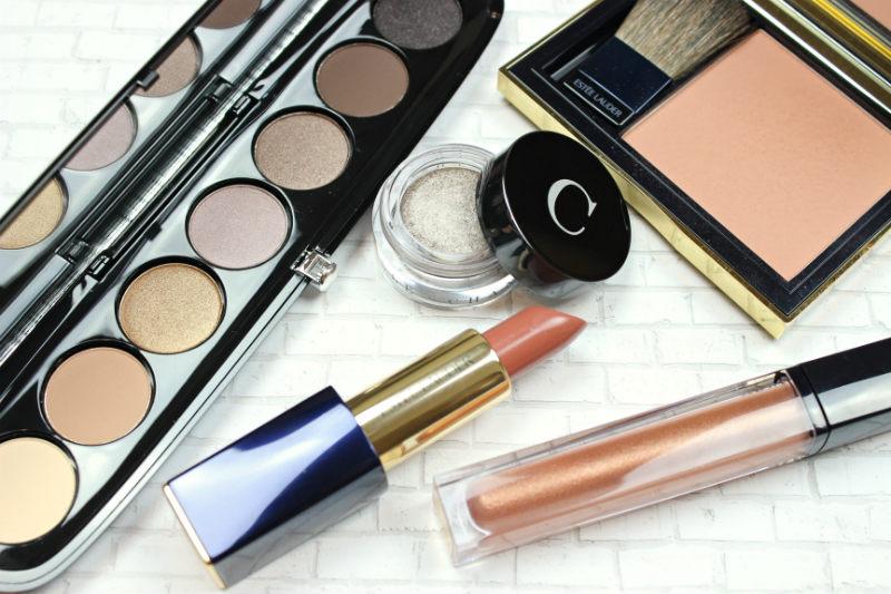 High End Makeup Haul | Marc Jacobs Social Butterfly Eyeshadow Palette, Chantecaille Triton, Estee Lauder Discreet Lipstick, Estee Lauder Sensuous Rose Blush