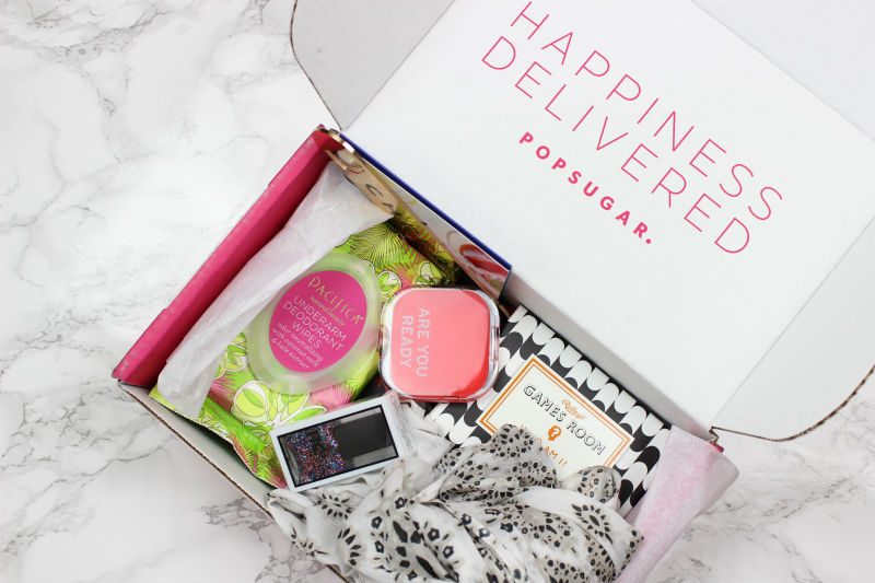 POPSUGAR Must Have Box June 2016 Review