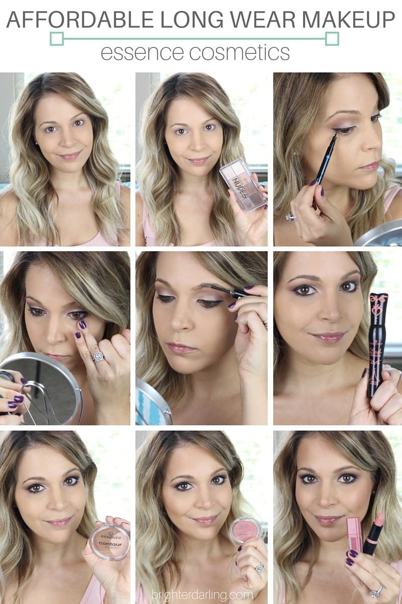 LONG WEAR MAKEUP essence cosmetics tutorial #essenceEssentials #essenceAtTarget