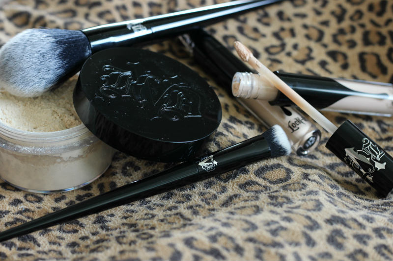 Kat Von D Lock It Concealer Creme, Setting Powder, Concealer Brush, Setting Brush Review