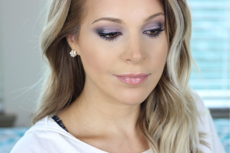 Marc Jacobs Social Butterfly Palette Purple Smokey Eye Look brighterdarling.com