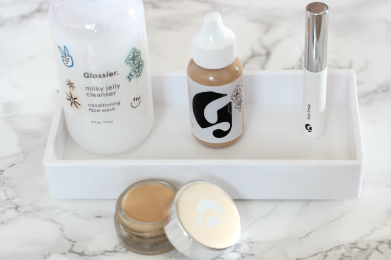 New Glossier Boy Brow Stretch Concealer Milky Jelly Cleanser Review