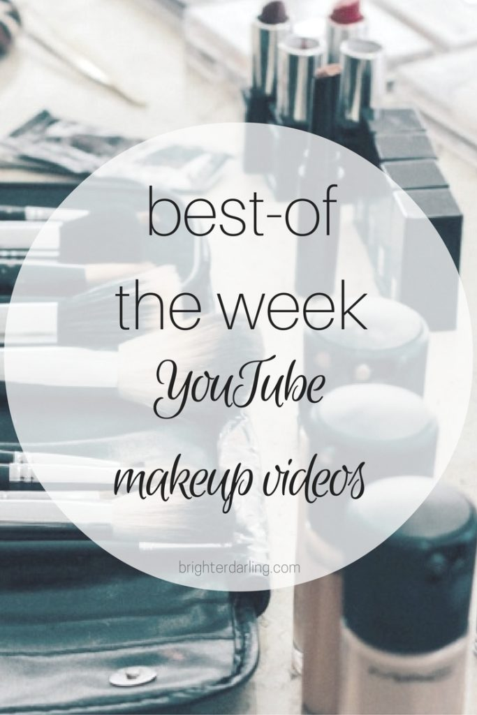 Best Beauty Videos from YouTube for Sept 4 by Carolina Hirons, Jordan Liberty and Monika Blunder