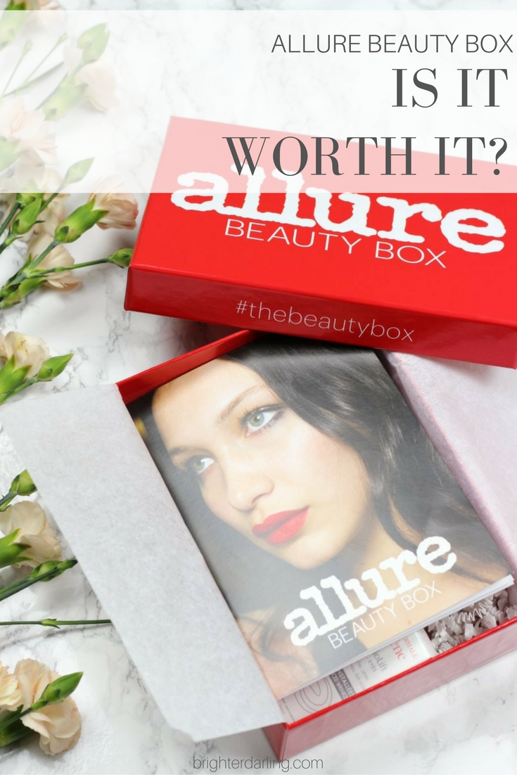 Allure Beauty Box September 2016 Review with Financial Value