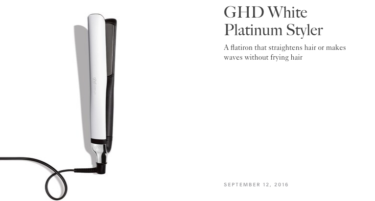 Allure Best of Beauty | GHD Platinum Styler
