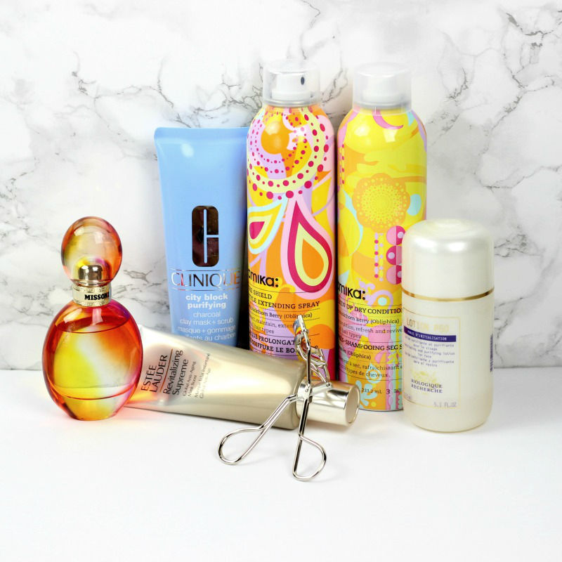 New Beauty Items | Estee Lauder Revitalizing Supreme Global Anti Aging Mask Boost, Biologique Recherche Lotion P50 Non Phenol, Amika Style Extending Spray, Amika Dry Conditioner
