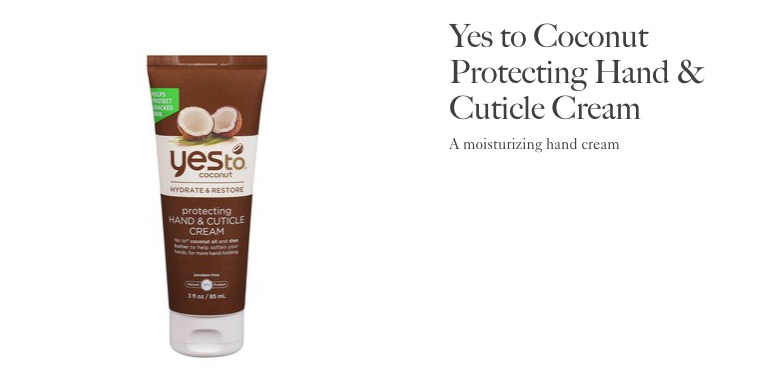 Allure Best of Beauty | Yes to Coconut Hand Cream