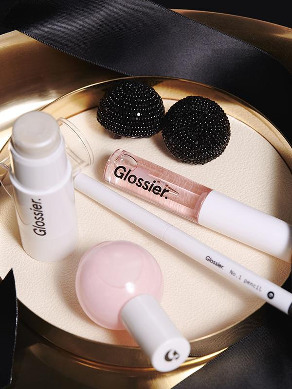 Glossier Black Tie Set Limited Edition Holiday 2016