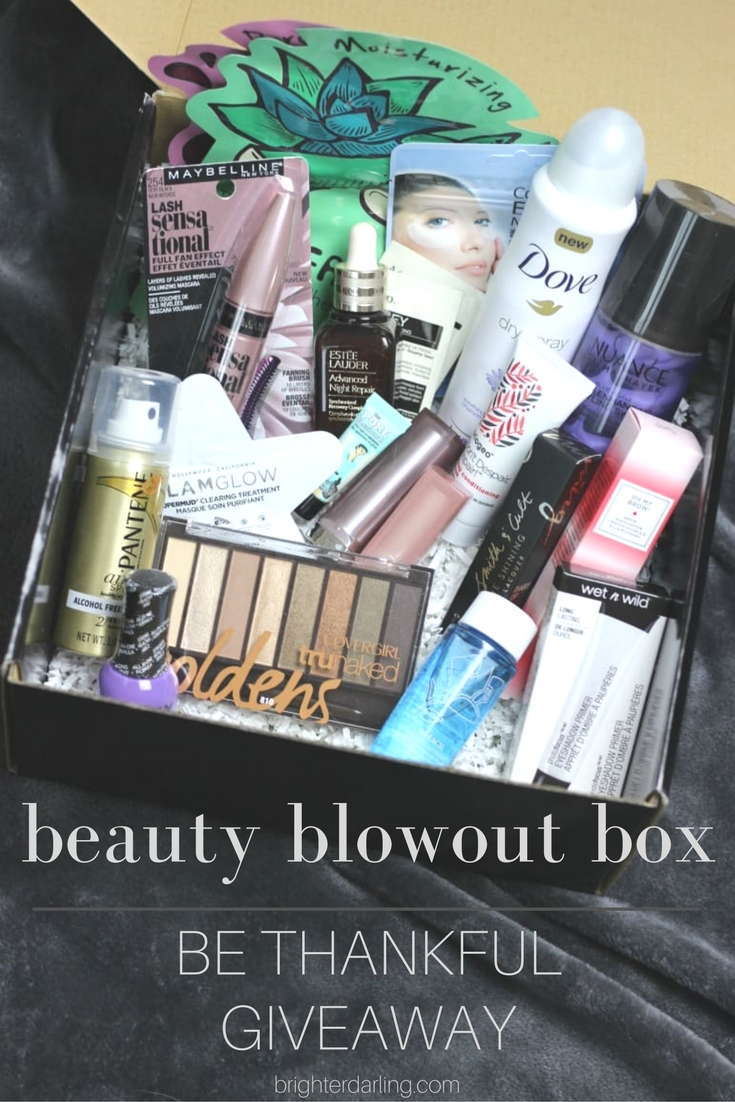 Beauty Giveaway | Nov 2016 Dec 2016 | Giveaway Beauty Blowout Box