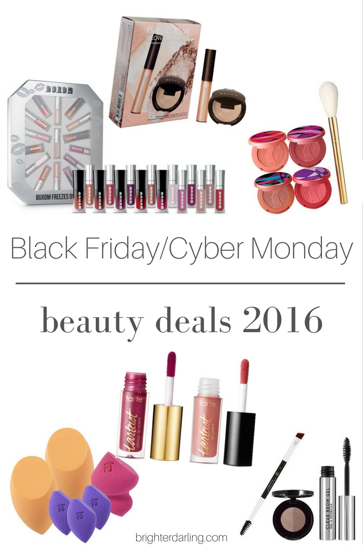 Black Friday Cyber Monday Beauty Deals 2016