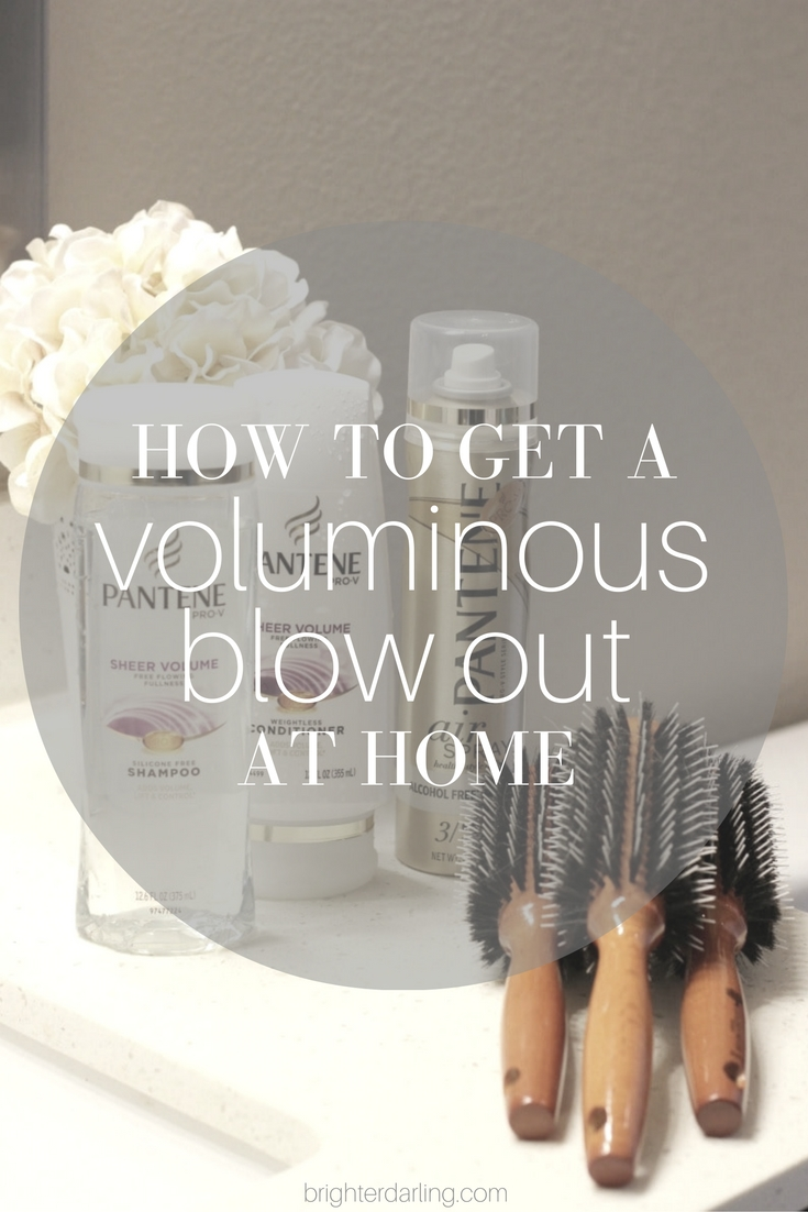 How To Get A Voluminous Professional Blow Out At Home | Pantene Sheer Volume Collection | Pantene Airspray