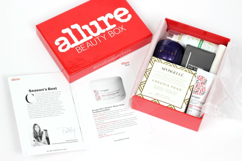 Allure Beauty Box October 2016 Review | Final Allure Beauty Box Subscription Thoughts