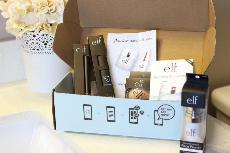 new elf products from Influenster VoxBox