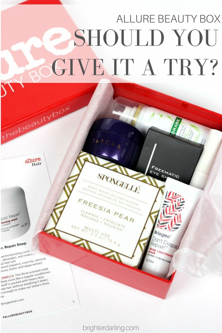 Allure Beauty Box Final Review and Overall Thoughts and Evaluation
