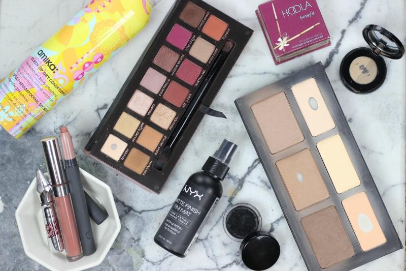 2016 beauty favorites | Kat Von D Shade Light, ColourPop Echo Park, Benefit Hoola, Bite Leche, Anastasia Modern Renaissance, Inglot Eyeliner, amika Dry Conditioner