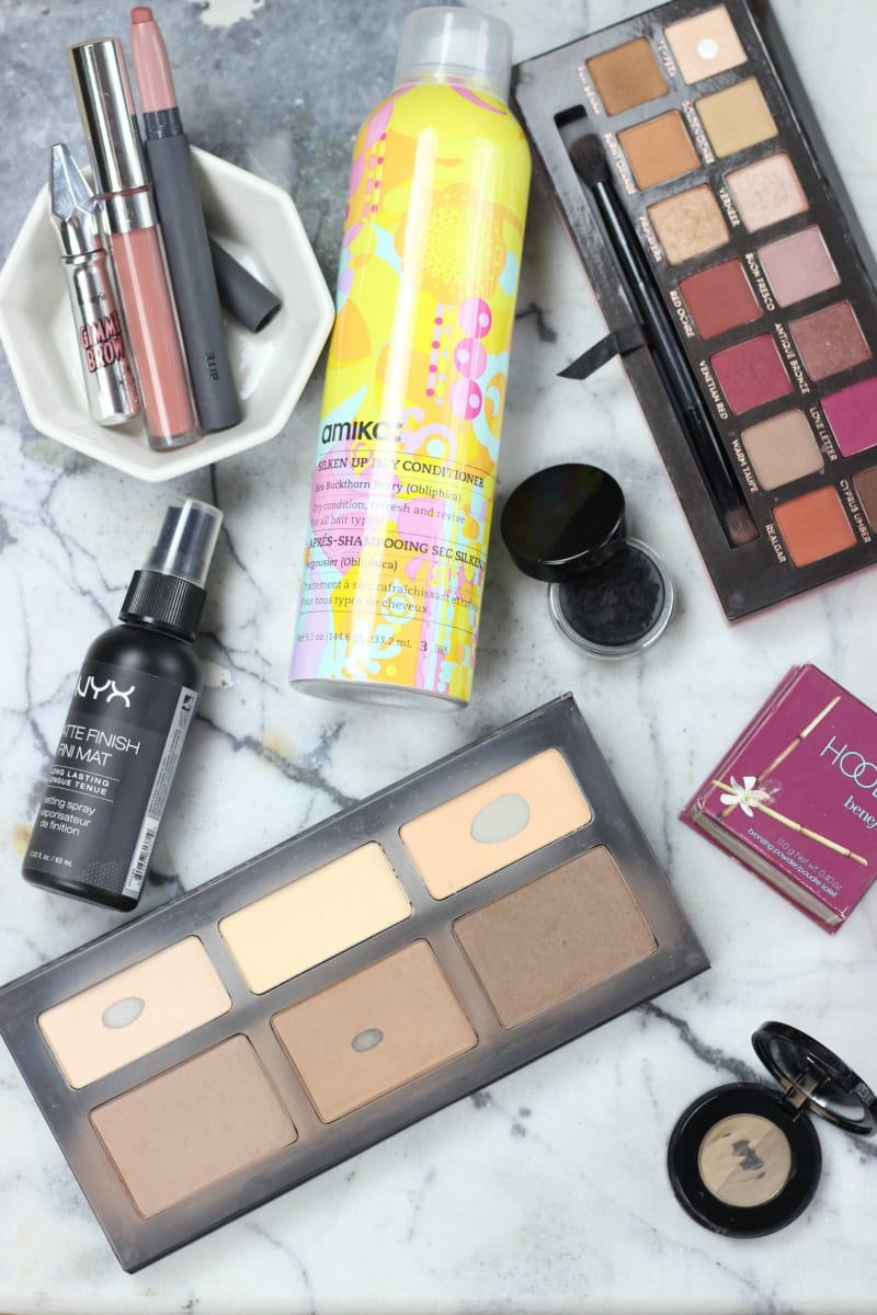 2016 beauty favorites | Kat Von D Shade Light, ColourPop Echo Park, Benefit Hoola, Bite Leche, Anastasia Modern Renaissance, Inglot Eyeliner, amika Dry Conditioner