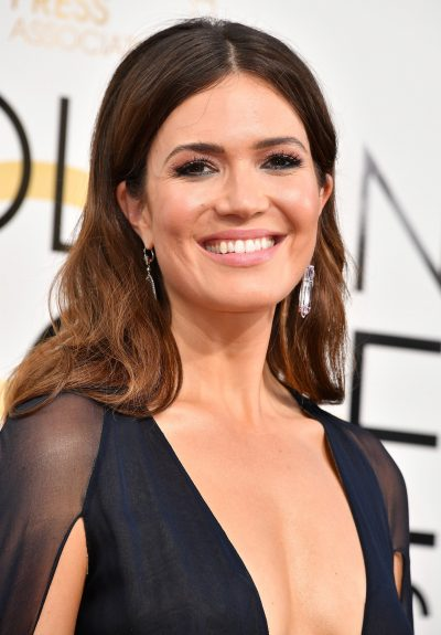 Mandy Moore Golden Globes 2017 makeup