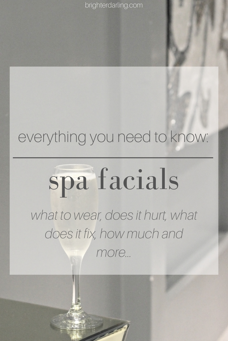 Everything you need to know about Spa Facials | Midtown Med Spa in Houston TX | Beauty Blogger