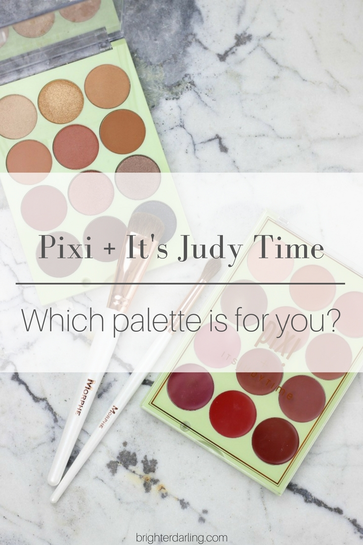 Pixi and It's Judy Time Collab Review | It's Eye Time | It's Lip Time