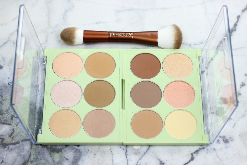 Pixi and Maryam Maquillage Review | Highlight and Contour Palette | Glow and Bronze Palette