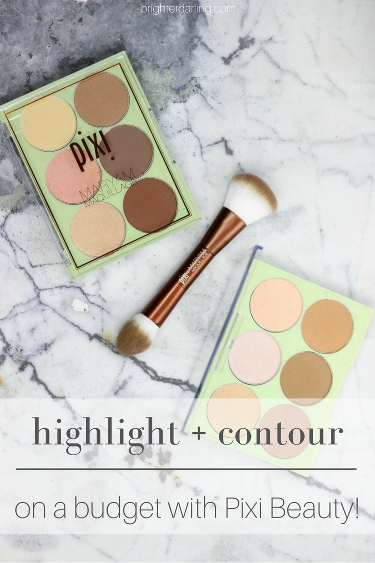 highlight and contour on a budget with pixi beauty | pixi and maryam maquillage review and swatches | beaut bloggers