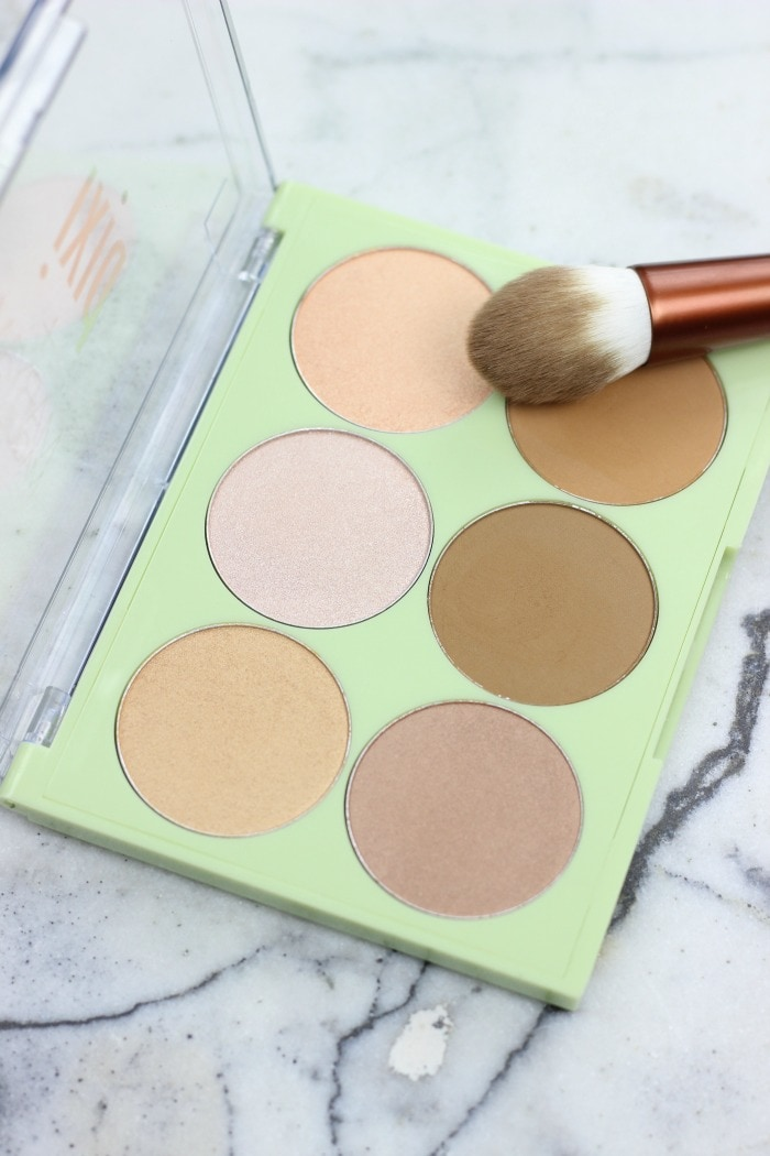 pixi and maryam maquillage strobe and bronze palette with swatches | pixi and maryam maquillage review