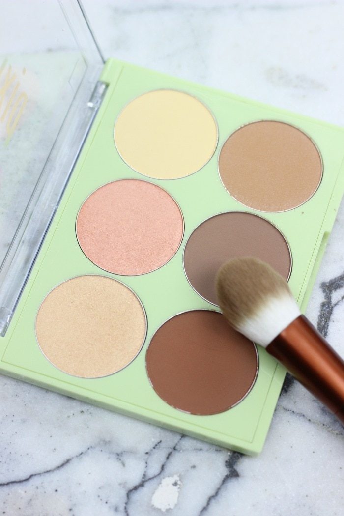 pixi maryam maquillage highlight and contour palette | pixi and maryam maquillage review