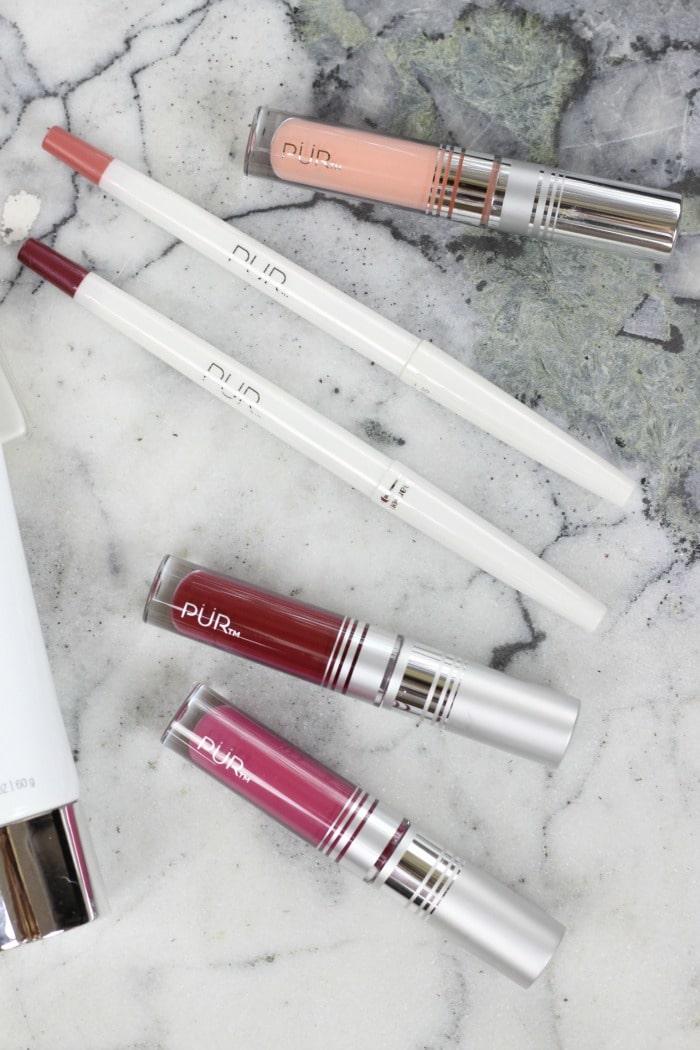 Pur Cosmetics Velvet Matte Liquid Lipsticks Passion and Fever