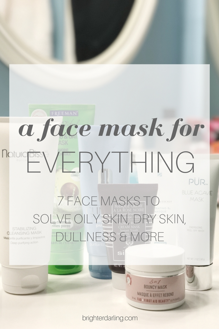 A FACE MASK FOR EVERYTHING - Face Mask for Oily Skin - Face Mask for Dry Skin - Face Mask for Dull Dehydrated Skin