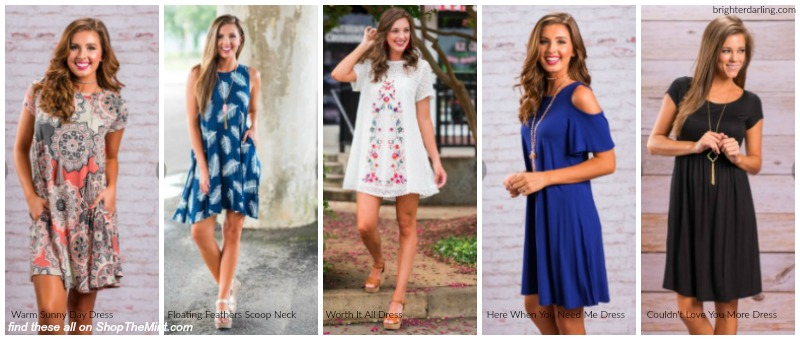 Brighter Darling Swing Dress Favorites from Shop The Mint Boutique