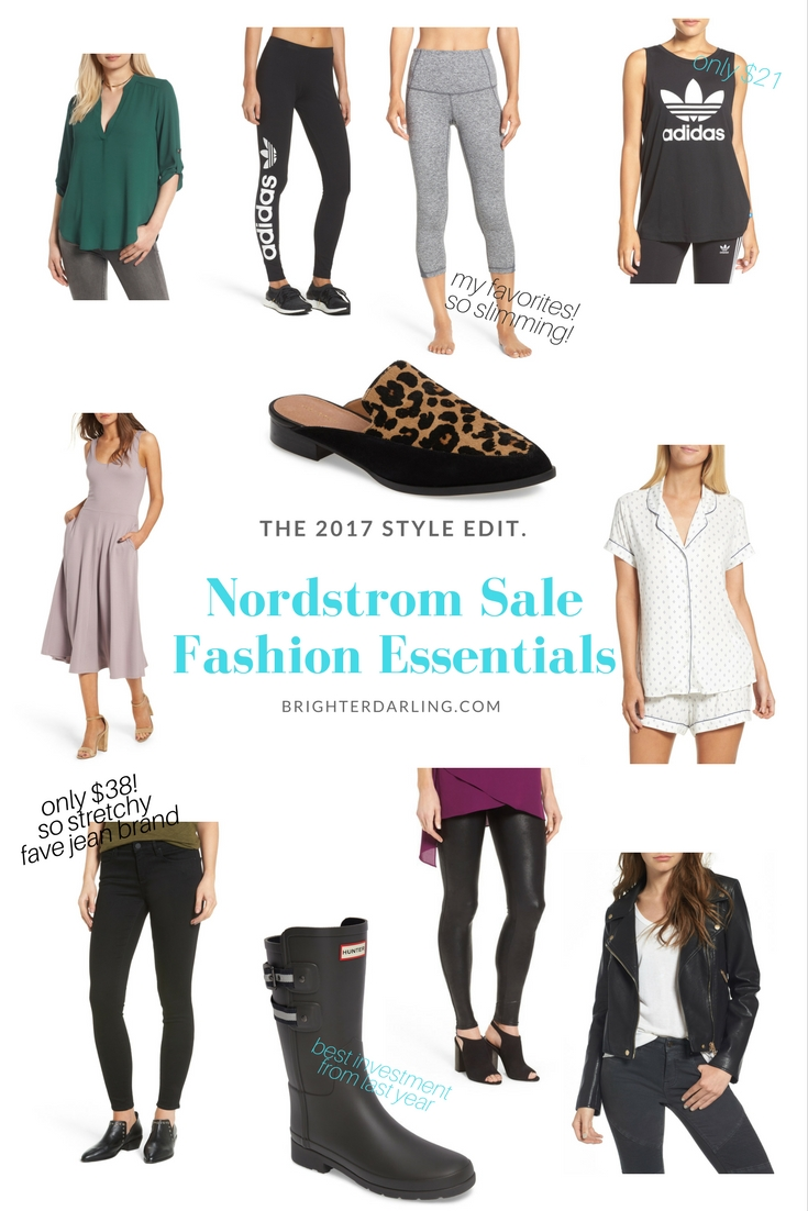 Nordstrom Sale Fashion Essentials #NSale 2017 | 10 Must Haves From the #NSale Fashion Section