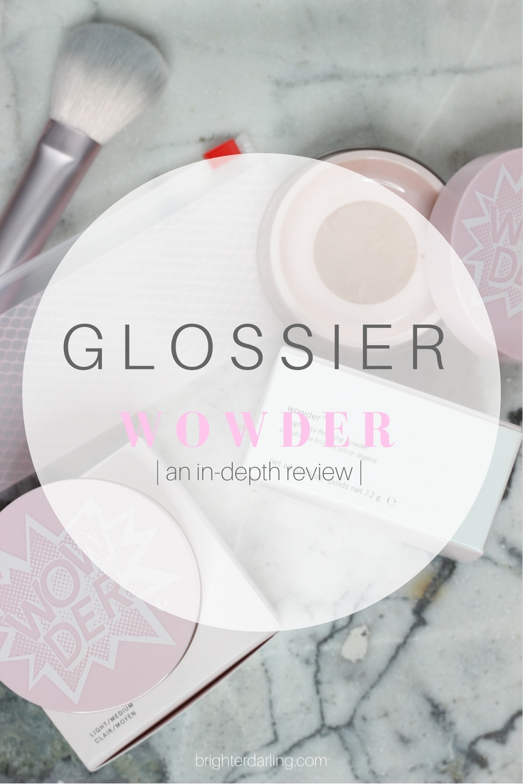GLOSSIER Wowder Review - Glossier Wowder Swatches Light Medium - Glossier Wowder Swatches Deep Dark - Glossier Coupon Code