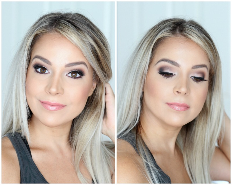 Trying Out House of Lashes | Marc Jacobs Glambition Palette Dramatic Brown Smokey Eye Bridal Makeup Look