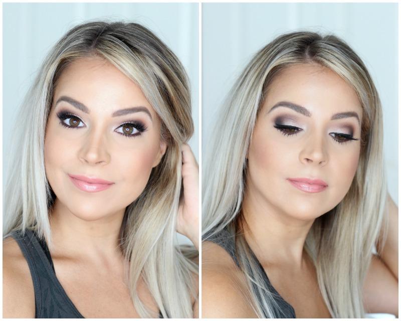 Marc Jacobs Glambition Palette Dramatic Brown Smokey Eye Bridal Makeup Look