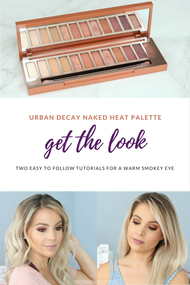 GET THE LOOK - Urban Decay Naked Heat Looks - Urban Decay Naked Heat Brown Eyes