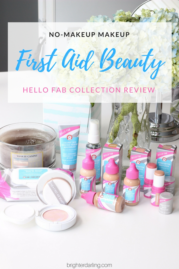 Hello FAB Collection Review and Swatches of Skin Tints and Multi Sticks - FIrst Aid Beauty Hello FAB Collection Review