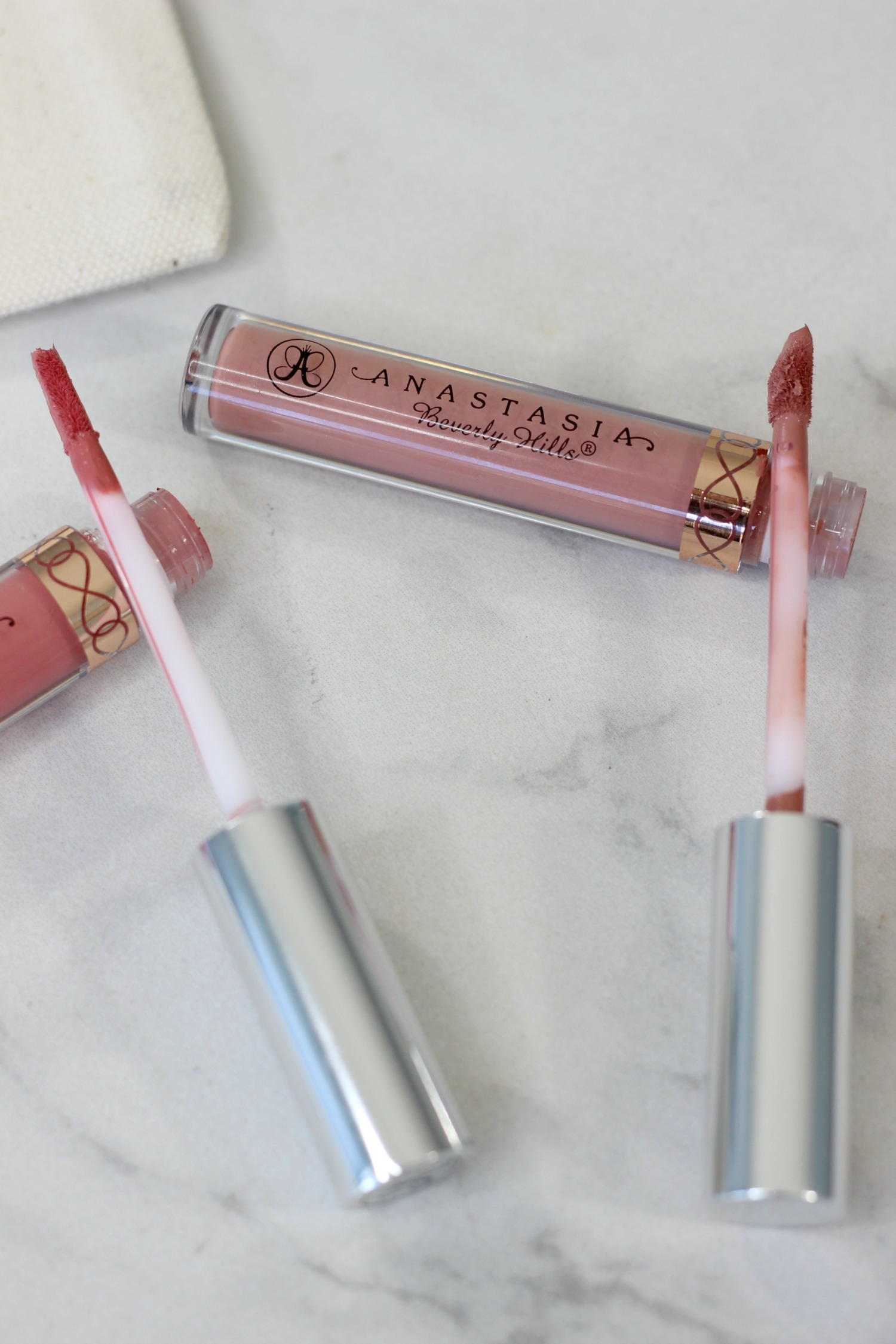 ABH Liquid Lipstick Different Applicators | Anastasia Beverly Hills Liquid Lipstick Review