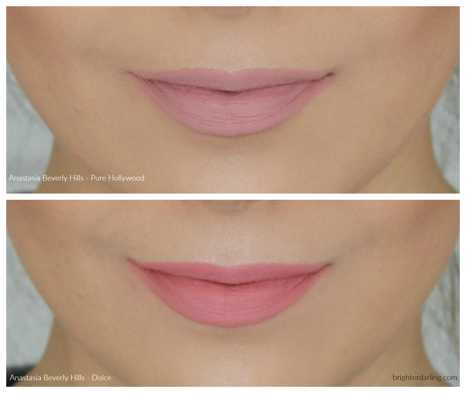 Anastasia Beverly Hills Liquid Lipstick Review - Pure Hollywood and Dolce