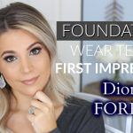 Diorskin Forever Foundation Wear Test [YouTube]