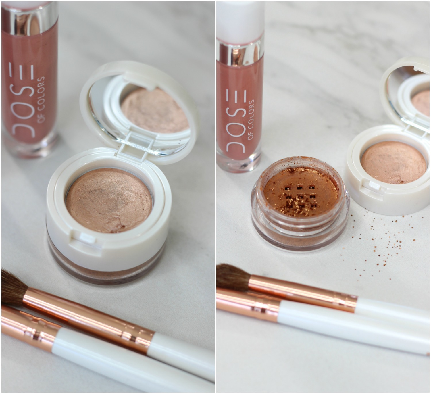 Dose of Colors Review Eyedeal Duo In Sunset