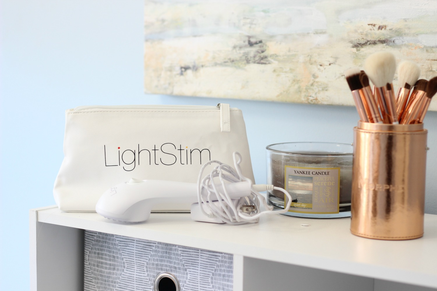 How To Quickly Get Rid of Acne At Home Lightstim for Acne Review | Brighter Darling Blog