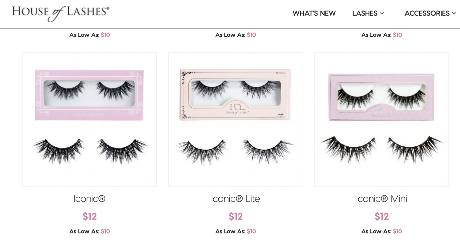 Trying Out House of Lashes | Iconic Styles House of Lashes Screenshot