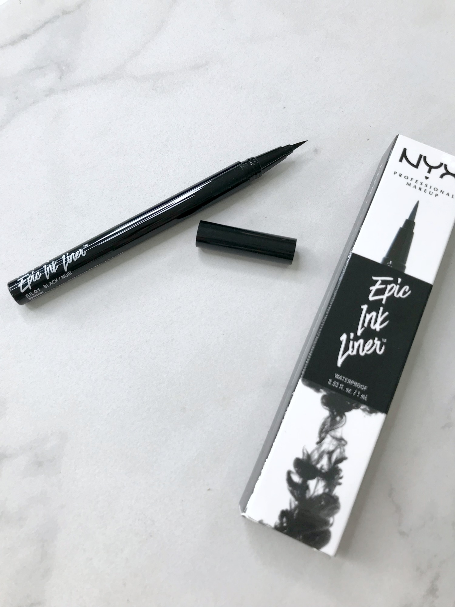 September 2017 Beauty Favorites | NYX Epic Ink Liner Review