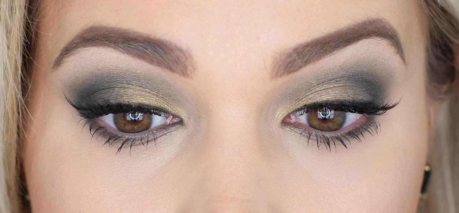 Maybelline City Mini Urban Jungle Makeup Look Eyes Closed Close Up Brighter Darling Blog
