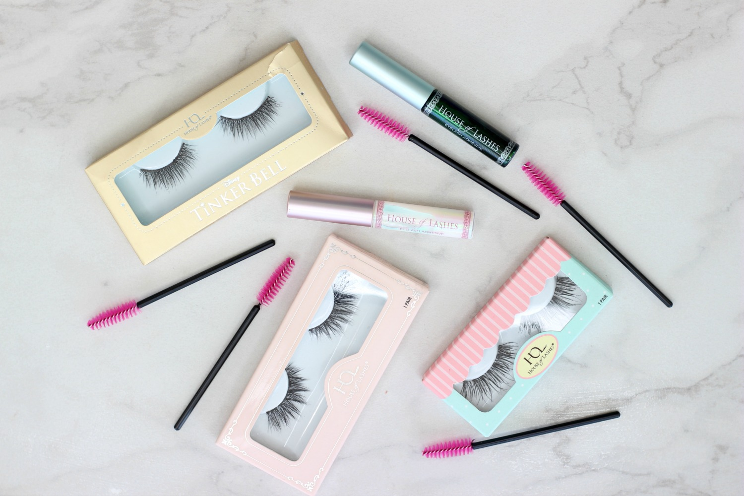 Trying Out House of Lashes Iconic Lite Pixie Luxe and Temptress Wispy Lashes