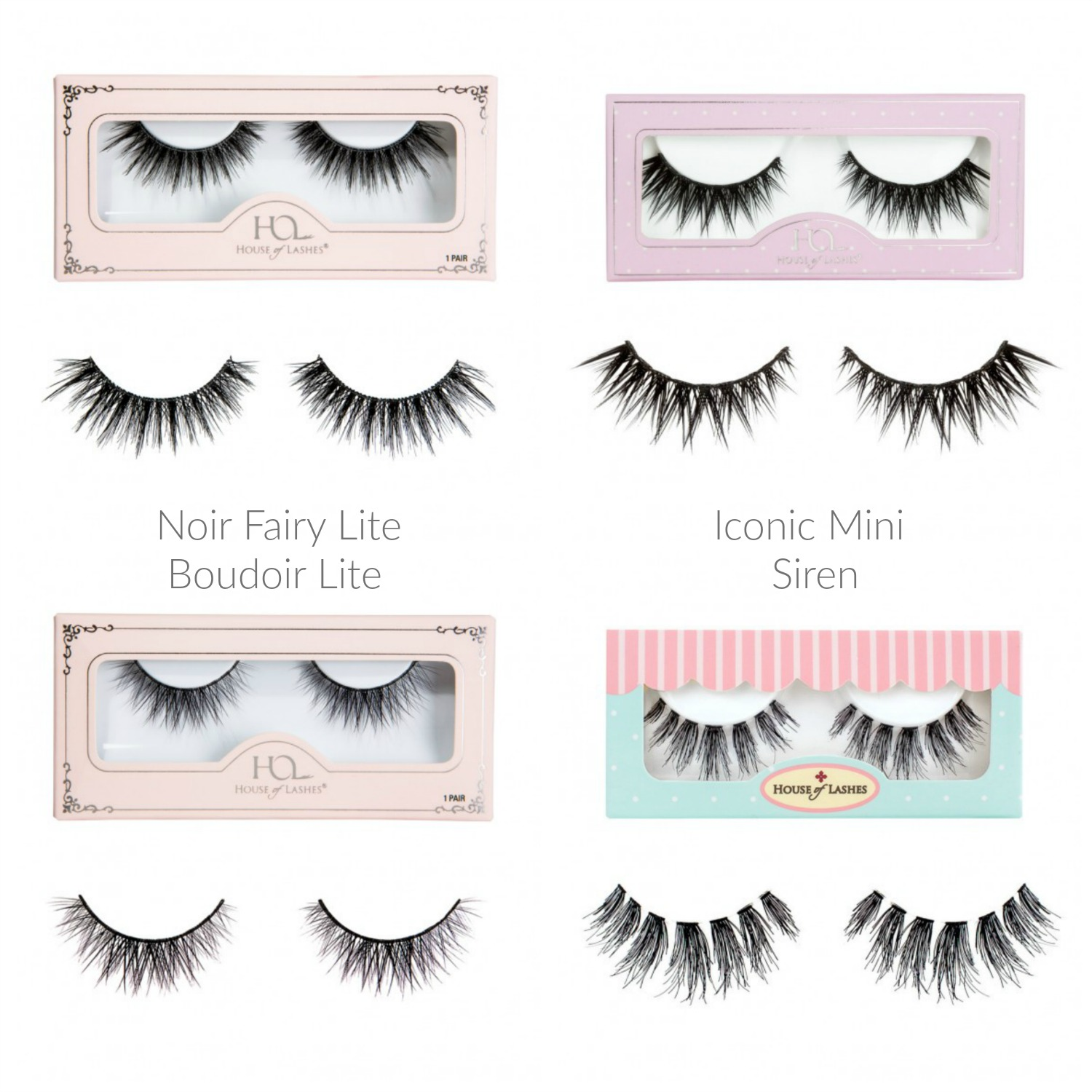 Trying Out House of Lashes Next To Try