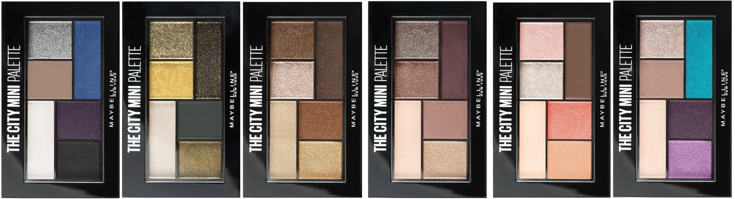 Maybelline City Mini Palettes ALL