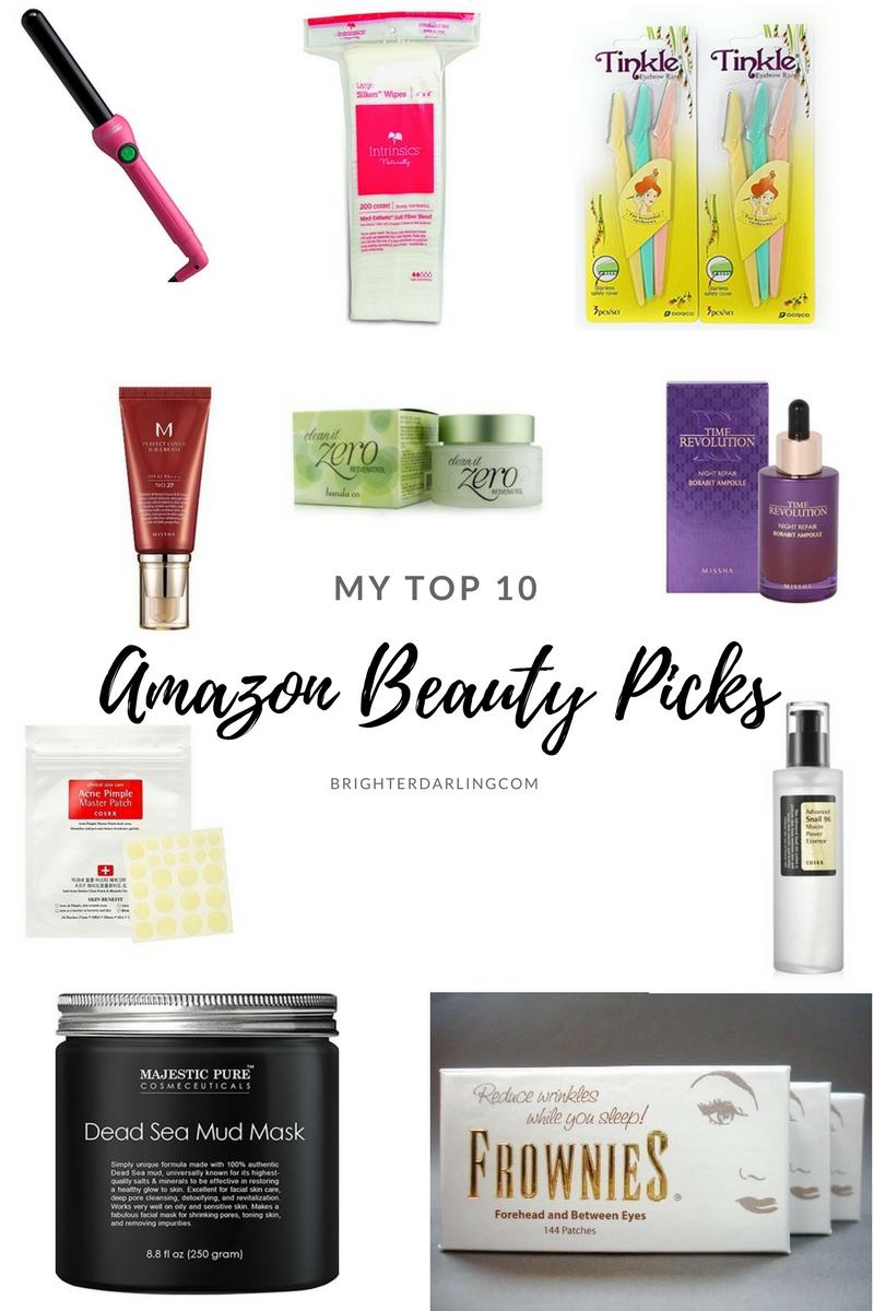 TOP 10 Amazon Beauty Picks - #AMAZONBEAUTY