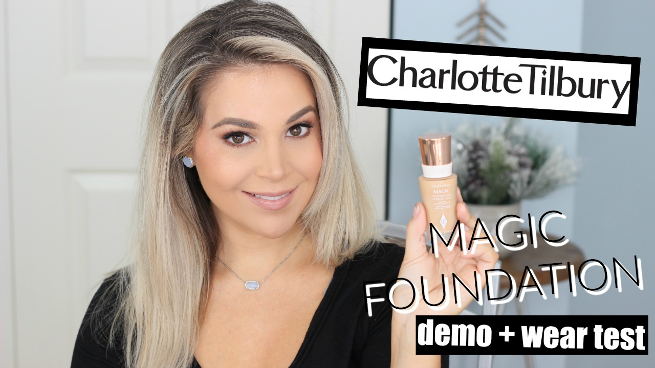 Charlotte Tilbury Magic Foundation Demo and Wear Test on Oily Skin Shade 7