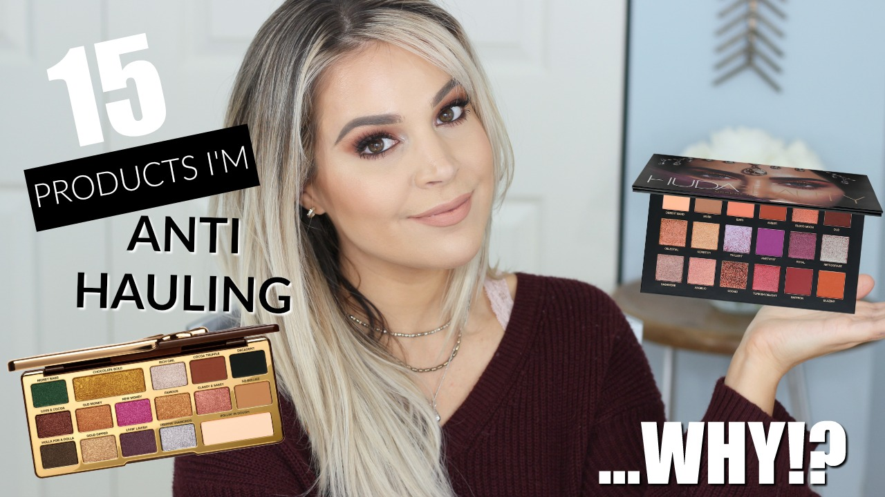 Anti Haul Beauty | Makeup I'm NOT Buying | Brighter Darling Blog